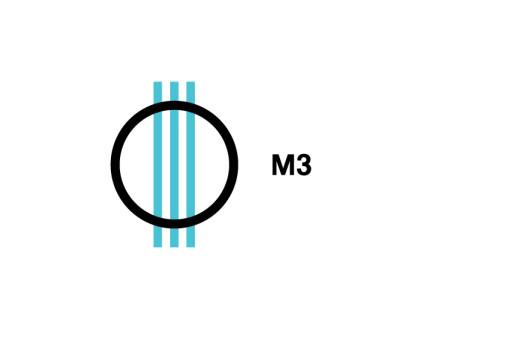 M3 logo M3